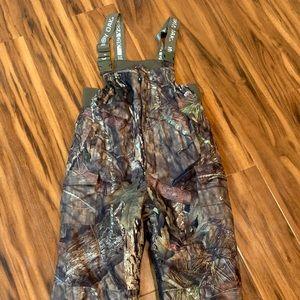 Mossy Oak Boys Insulated Camouflaged Bib Overalls